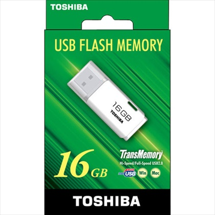TransMemory UBSフラッシュメモリ(TNU-Aシリーズ) 16GB 1個