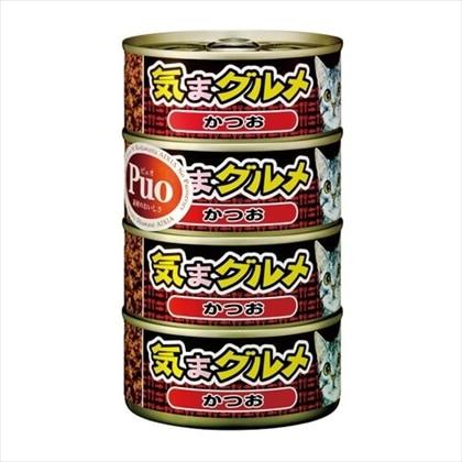 Puo 気まグルメかつお 155g×4缶