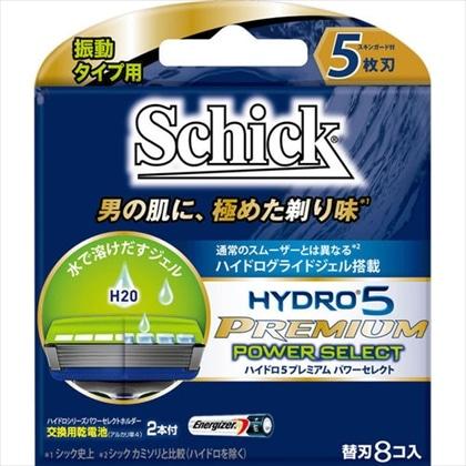 シック ハイドロ5プレミアム パワーセレクト 替刃 8個