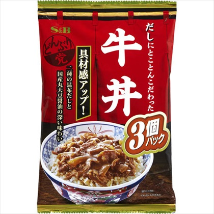 どんぶり党 牛丼 360g(120g×3袋)