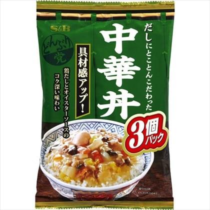 どんぶり党 中華丼 495g(165g×3袋)