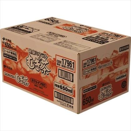 健康ミネラルむぎ茶 650ml×24本(1ケース)