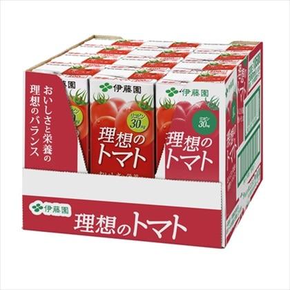 伊藤園 理想のトマト 200mL×12本