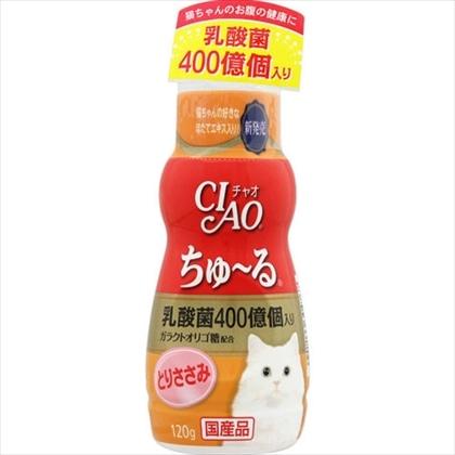 CIAO 乳酸菌ちゅ〜る とりささみ 120g