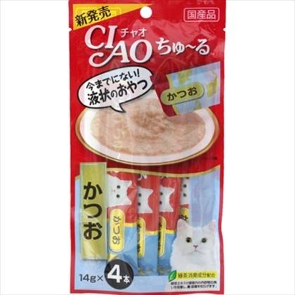 <CIAO ちゅ〜る> かつお 14g×4本