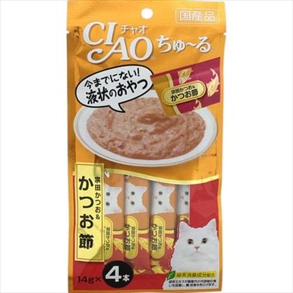 <CIAO ちゅ〜る> 宗田かつお&かつお節 14g×4本