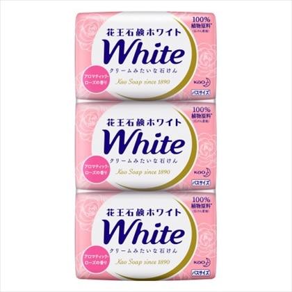 花王ホワイト アロマティックローズの香り バスサイズ 3コ
