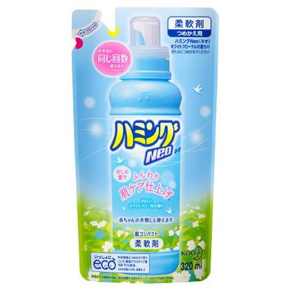 花王 ハミングNeo ホワイトフローラルの香り つめかえ 320ml