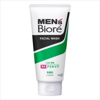 メンズビオレ 薬用アクネケア洗顔 ノンスクラブ 130g