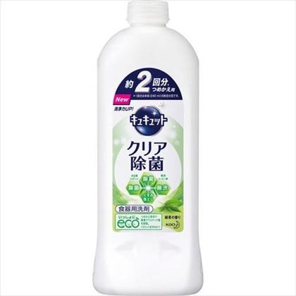 キュキュット クリア除菌 緑茶の香り つめかえ用 385ml