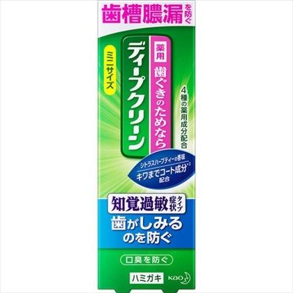 ディープクリーン 薬用ハミガキ 知覚過敏症状タイプ 60g
