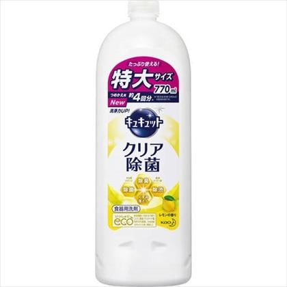 キュキュット クリア除菌 レモン 詰替用 770ml