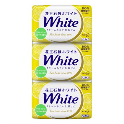 花王ホワイト リフレッシュ・シトラスの香り バスサイズ 3コ入り