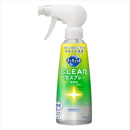 キュキュット CLEAR泡スプレーGF 本体 300mL