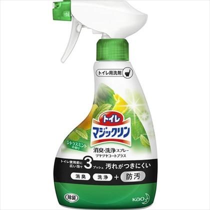 トイレマジックリン 消臭・洗浄スプレー ツヤツヤコートプラス シトラスミントの香り 本体 380mL