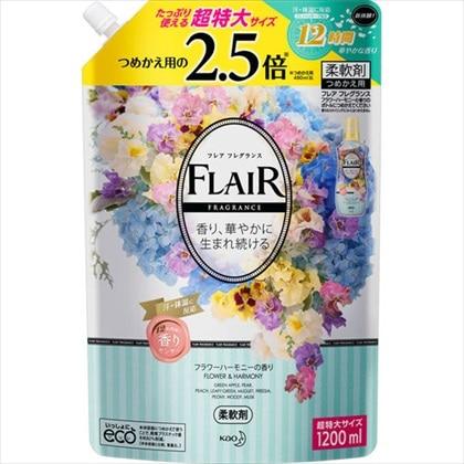 フレア フレグランス フラワーハーモニーの香り つめかえ用 1200mL
