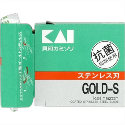 貝印T型ゴールドステンレス5本入