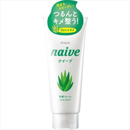 ナイーブ 洗顔フォーム アロエエキス配合 130g