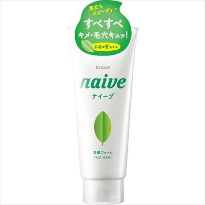 ナイーブ 洗顔フォーム お茶の葉エキス配合 130g