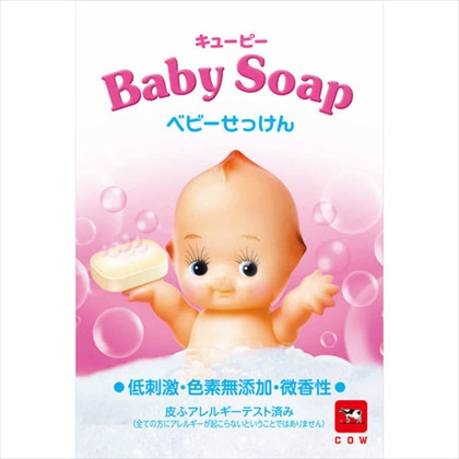 キューピーベビー石鹸