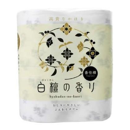 トイレットペーパー白檀の香り 4R(ダブル)