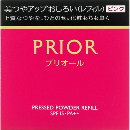 資生堂 プリオール 美つやアップおしろい(レフィル) ピンク 9.5g