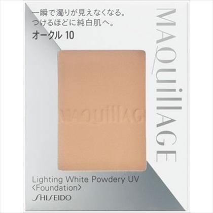 資生堂 マキアージュ ライティング ホワイトパウダリー UV オークル10 (レフィル)