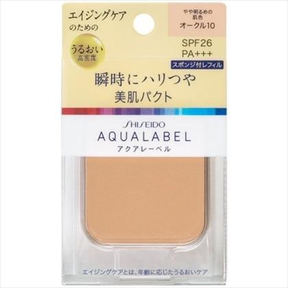 資生堂 アクアレーベル 明るいつや肌パクト オークル10(レフィル) 11.5g