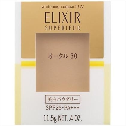 資生堂 エリクシール シュペリエル ホワイトニングパクトUV オークル30 (レフィル)