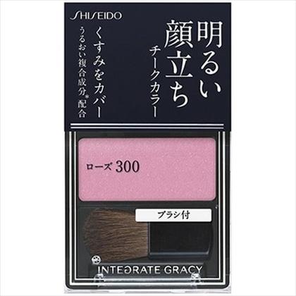 資生堂 インテグレート グレイシィ チークカラー ローズ300 2g