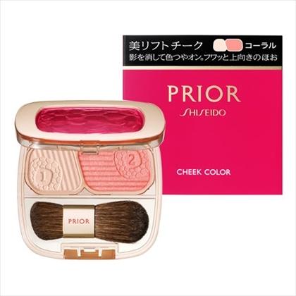 資生堂 プリオール 美リフトチーク コーラル 3.5g