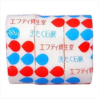 洗たく石鹸 花椿型3コパック 200g×3