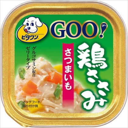 ビタワングー 鶏ささみ緑黄色野菜さつまいも 100g