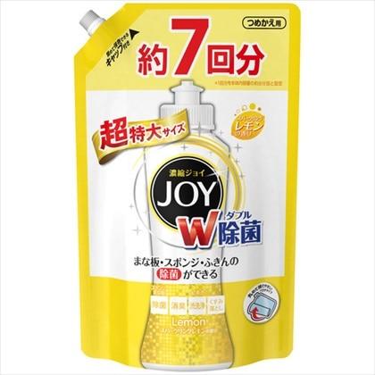 除菌ジョイコンパクト スパークリングレモンの香り (つめかえ用) 超特大サイズ 1065mL
