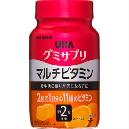 UHA グミサプリ マルチビタミン ボトル 60粒