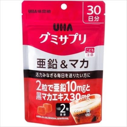 UHA グミサプリ 亜鉛&マカ SP 60粒
