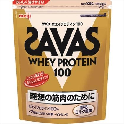 ザバス ホエイプロテイン100 香るミルク 1050g