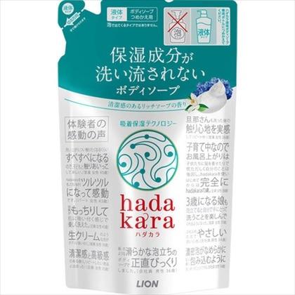 hadakara(ハダカラ) ボディソープ リッチソープの香り つめかえ用 360mL