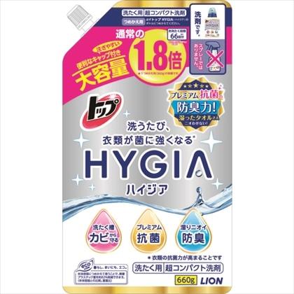 トップ HYGIA つめかえ用大 660g