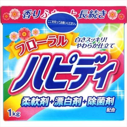 CF フローラルハピディ 洗濯用合成洗剤1.0kg
