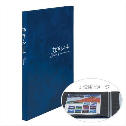 テージー 切手シート用アルバム KB-31N-02 Bタイプ B5 台紙16枚 青