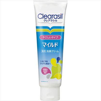 クレアラシル 薬用洗顔フォーム 肌にやさしいマイルドタイプ 120g