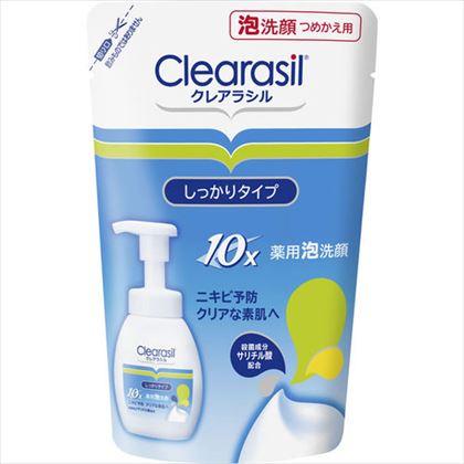 クレアラシル 薬用洗顔フォーム 10 つめかえ用 180ml