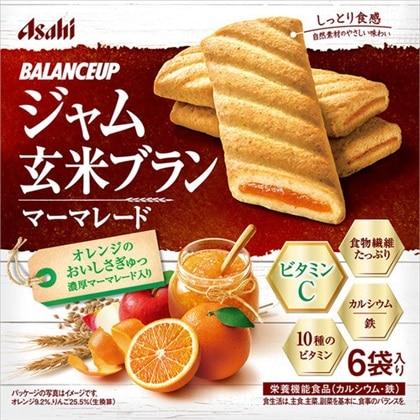 バランスアップ ジャム玄米ブラン マーマレード 165g(1枚×6袋)