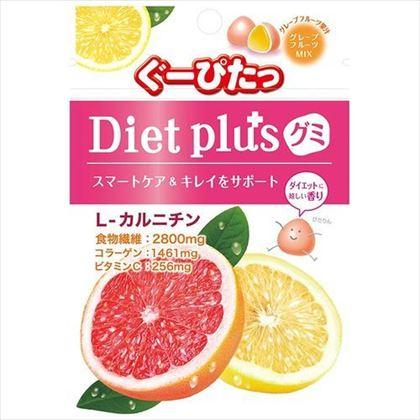 ぐーぴたっ ダイエットプラスグミ グレープフルーツミックス 28g