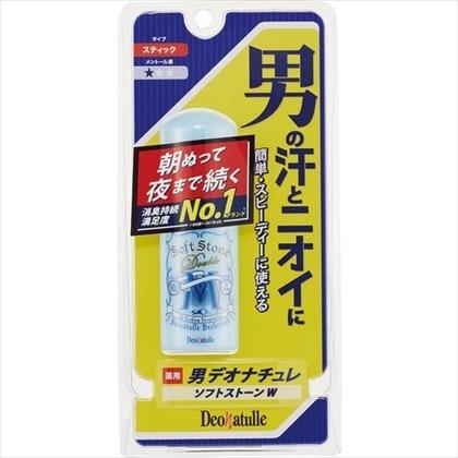 デオナチュレ 男ソフトストーンW 20g[医薬部外品]