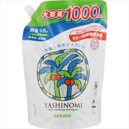 ヤシノミ洗剤 スパウト詰替用 1000mL