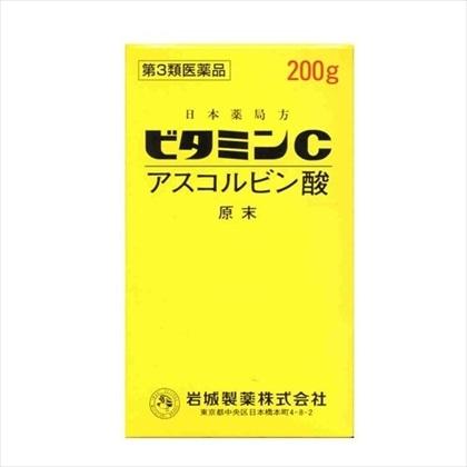 ビタミンC[イワキ] 200g[第3類医薬品]