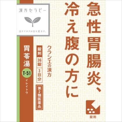 胃苓湯エキス錠クラシエ 36錠[第2類医薬品]