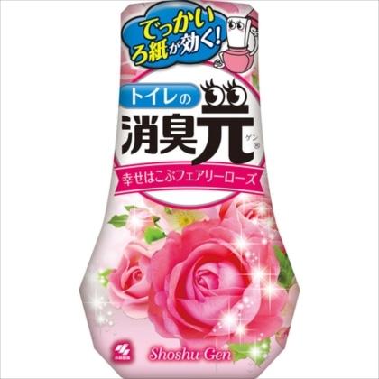 トイレの消臭元 幸せはこぶフェアリーローズの香り 400ml